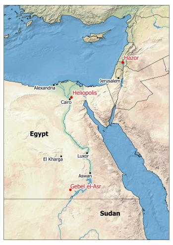 Hazor_location_map